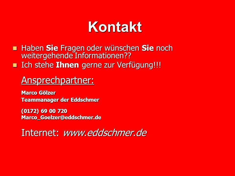 Kontakt Ansprechpartner: Marco Gölzer