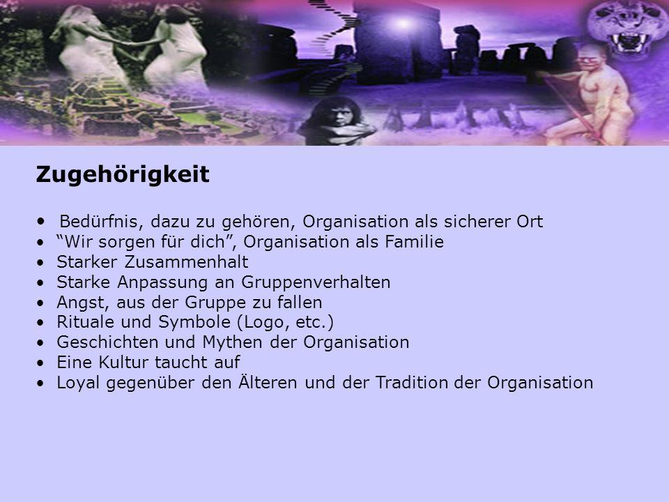 Zugehörigkeit Bedürfnis, dazu zu gehören, Organisation als sicherer Ort. Wir sorgen für dich , Organisation als Familie.