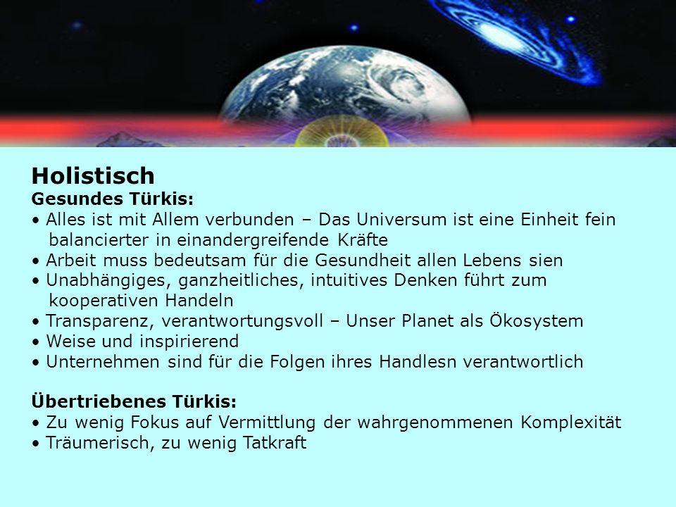Holistisch Gesundes Türkis: