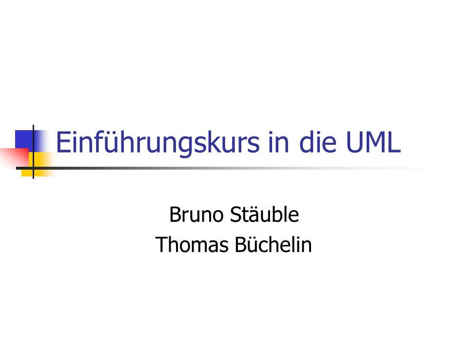 Einführungskurs in die UML