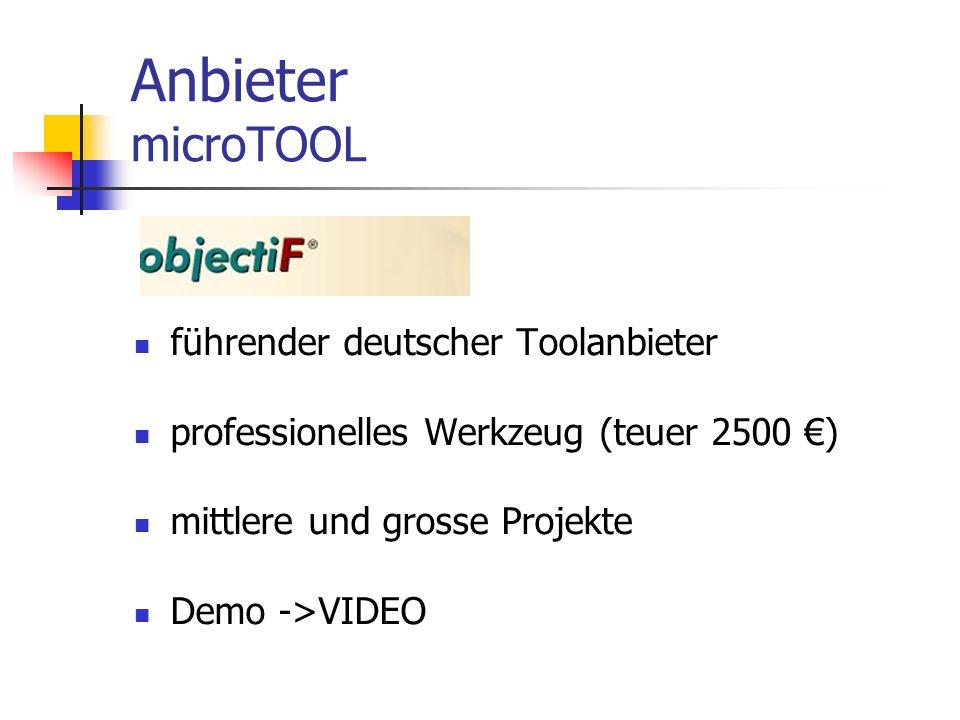 Anbieter microTOOL führender deutscher Toolanbieter