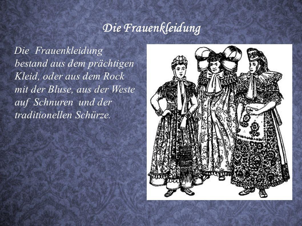 Die Frauenkleidung