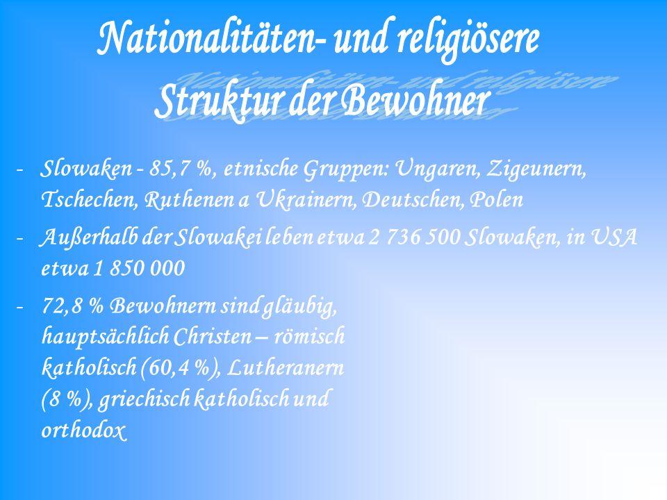 Nationalitäten- und religiösere