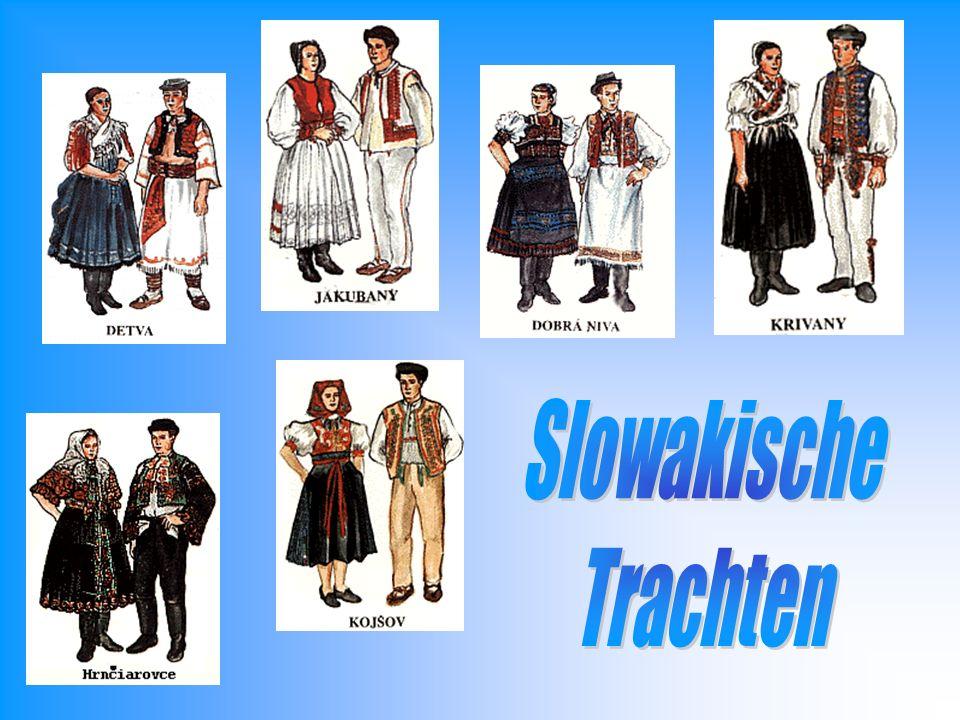 Slowakische Trachten