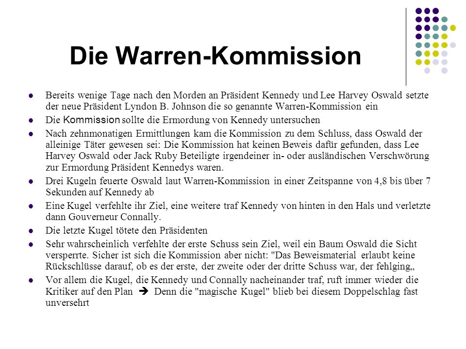 Die Warren-Kommission