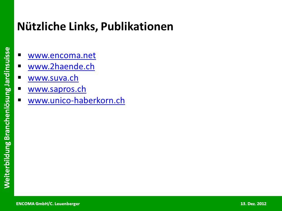 Nützliche Links, Publikationen