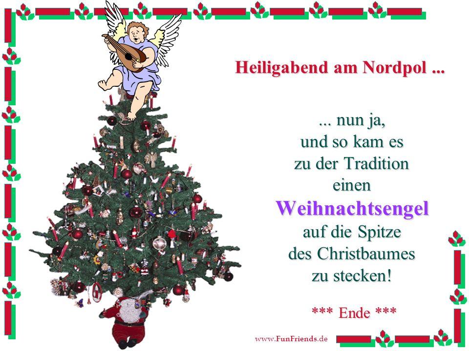 Heiligabend am Nordpol ...