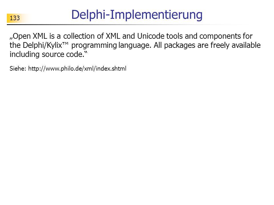Delphi-Implementierung