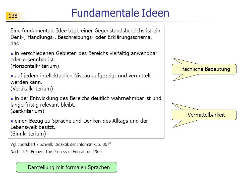 Darstellung mit formalen Sprachen