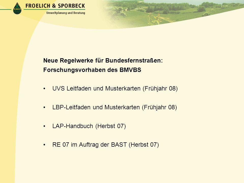 Neue Regelwerke für Bundesfernstraßen: