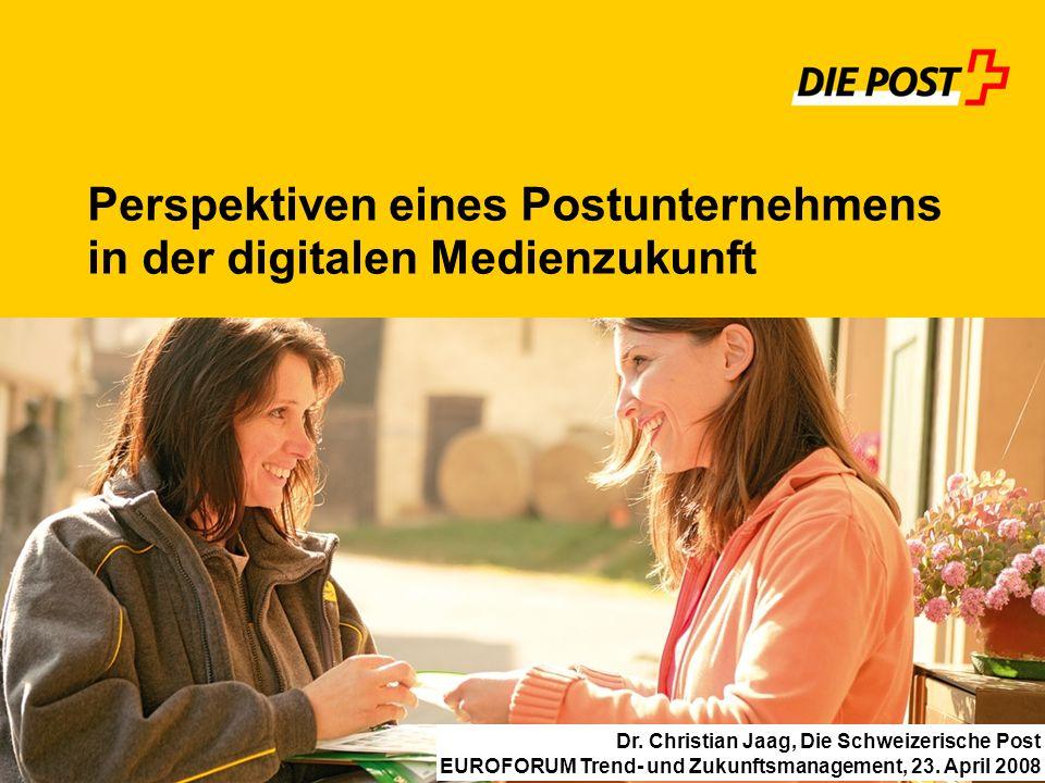 Perspektiven eines Postunternehmens in der digitalen Medienzukunft