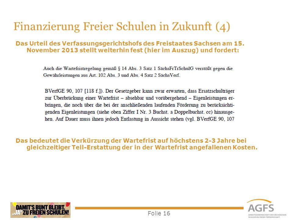 Finanzierung Freier Schulen in Zukunft (4)