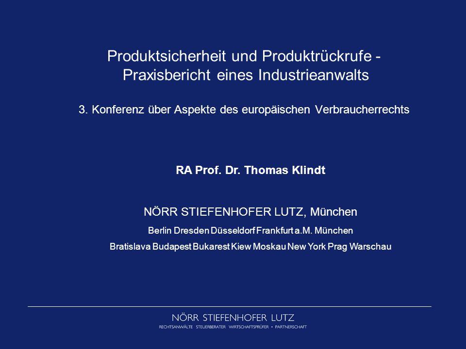 RA Prof. Dr. Thomas Klindt