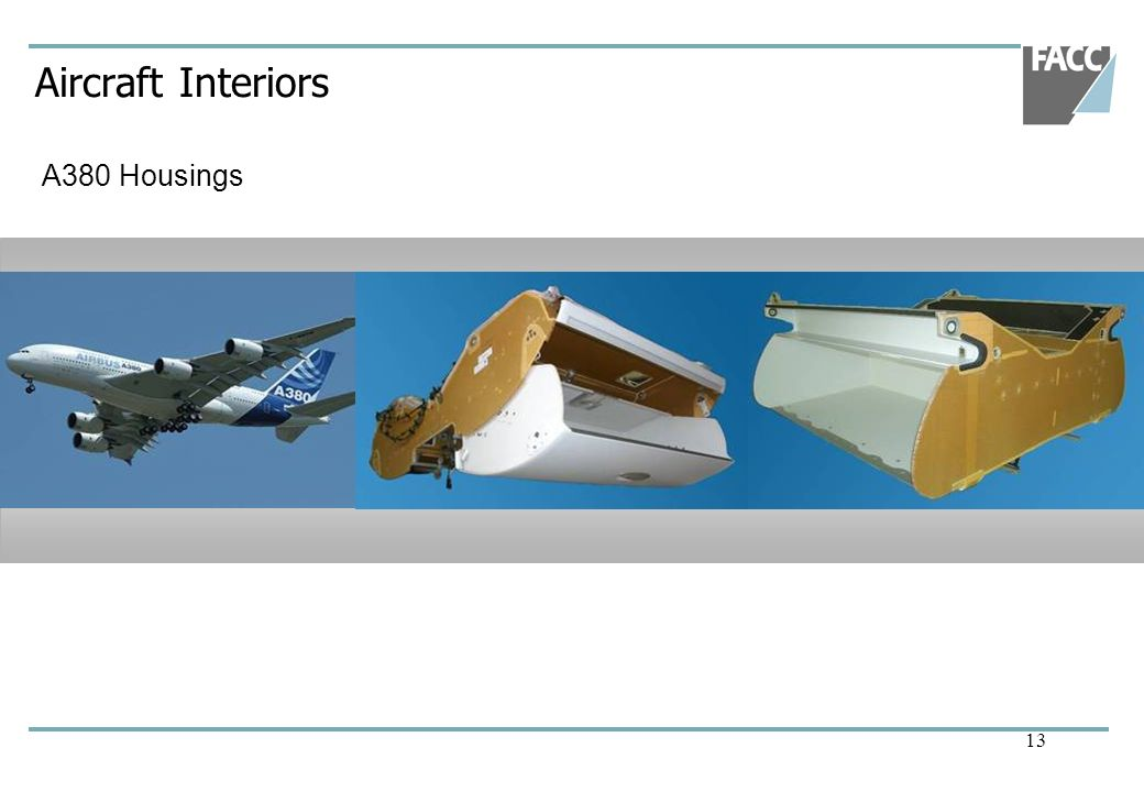 Aircraft Interiors A380 Housings