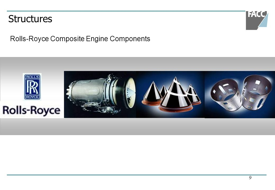 Structures Rolls-Royce Composite Engine Components