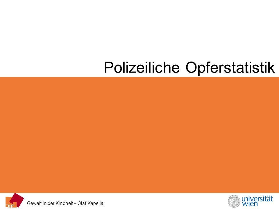 Polizeiliche Opferstatistik