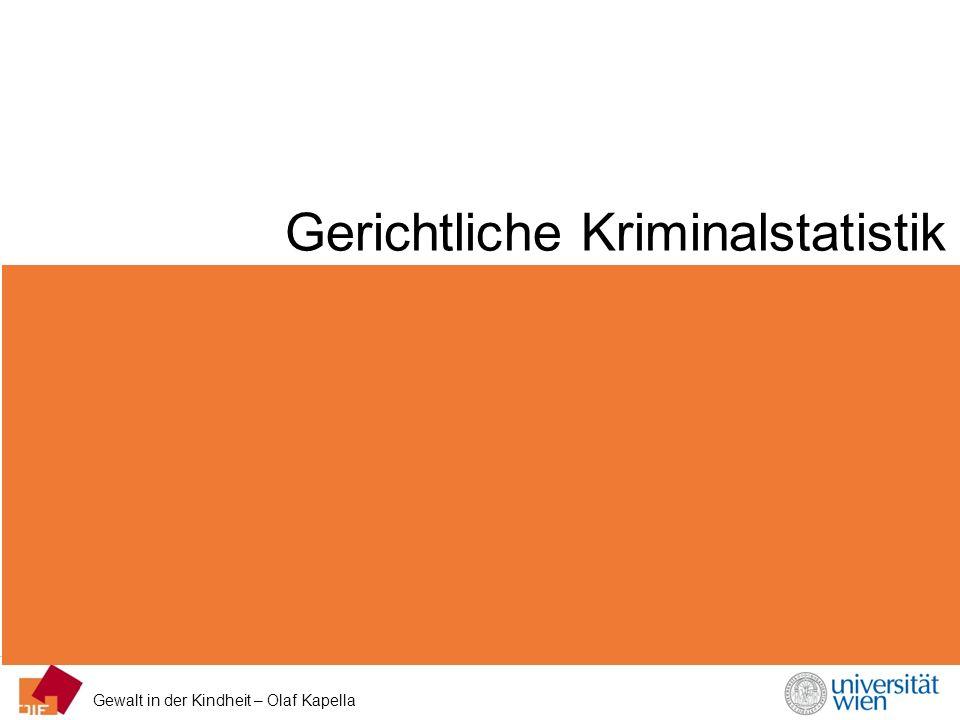 Gerichtliche Kriminalstatistik