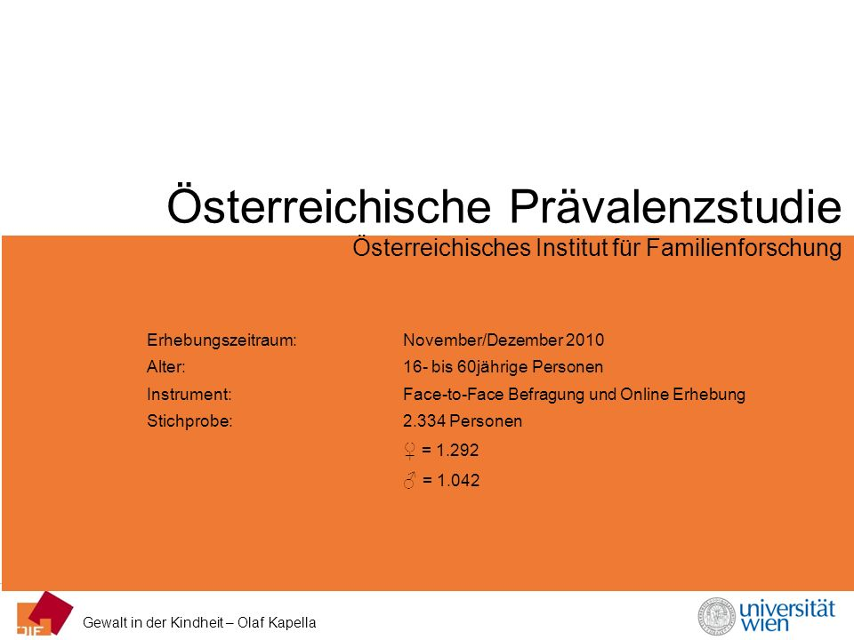 Österreichische Prävalenzstudie