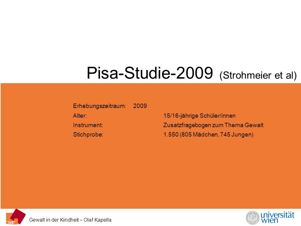 Pisa-Studie-2009 (Strohmeier et al)