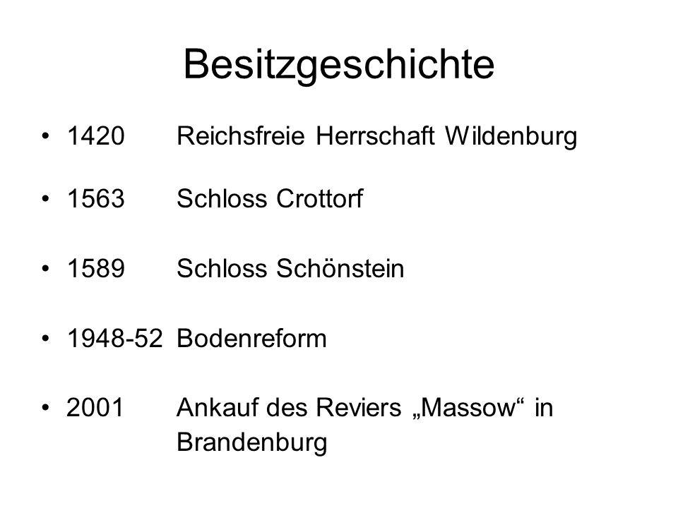 Besitzgeschichte 1420 Reichsfreie Herrschaft Wildenburg