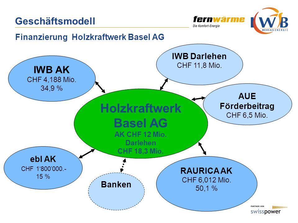 Finanzierung Holzkraftwerk Basel AG