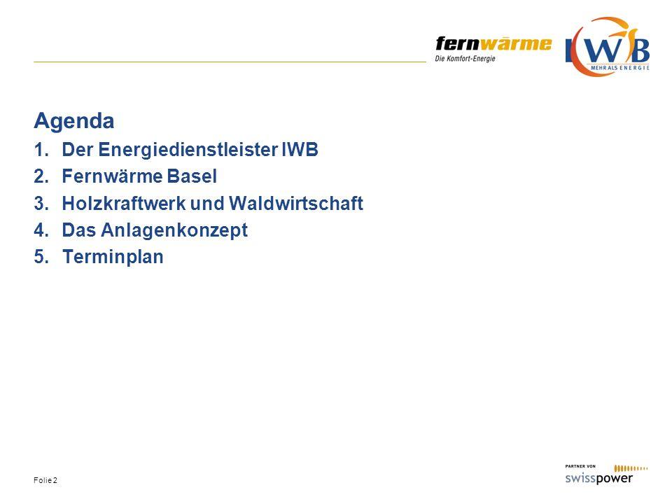Agenda Der Energiedienstleister IWB Fernwärme Basel