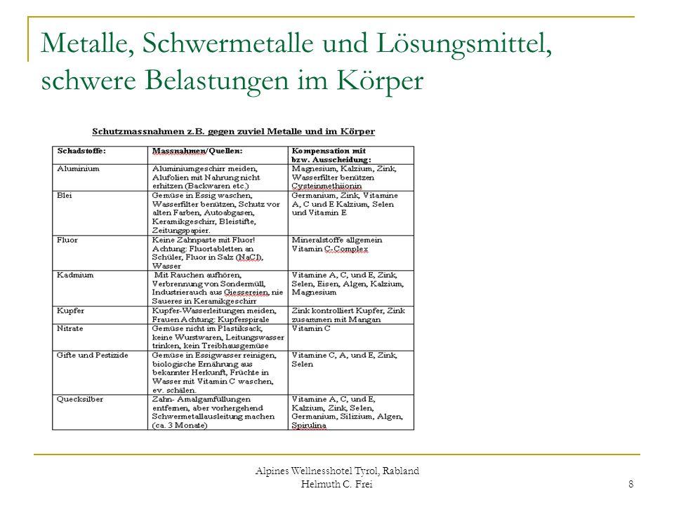 Alpines Wellnesshotel Tyrol, Rabland Helmuth C. Frei