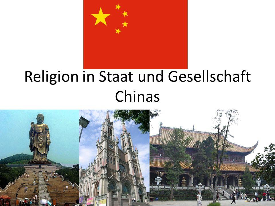 Religion in Staat und Gesellschaft Chinas
