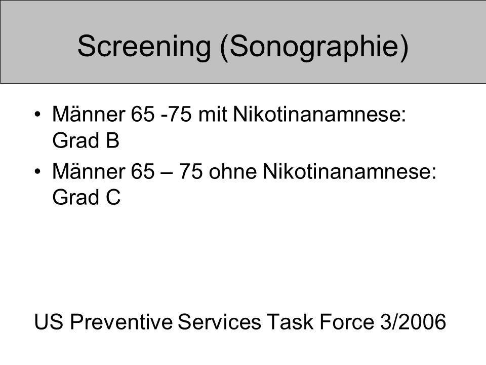 Screening (Sonographie)