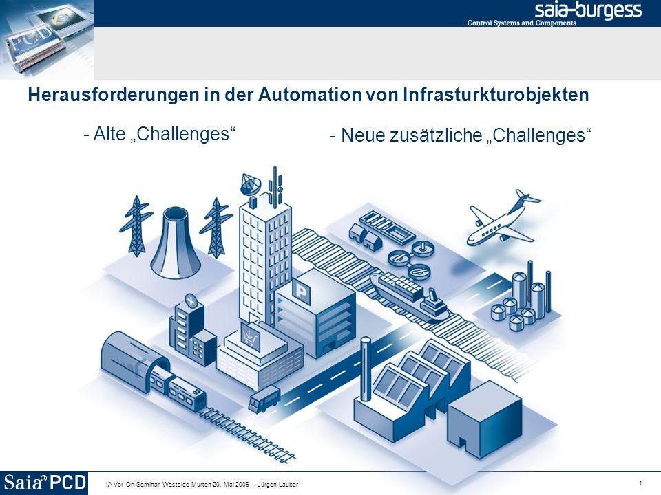 Herausforderungen in der Automation von Infrasturkturobjekten