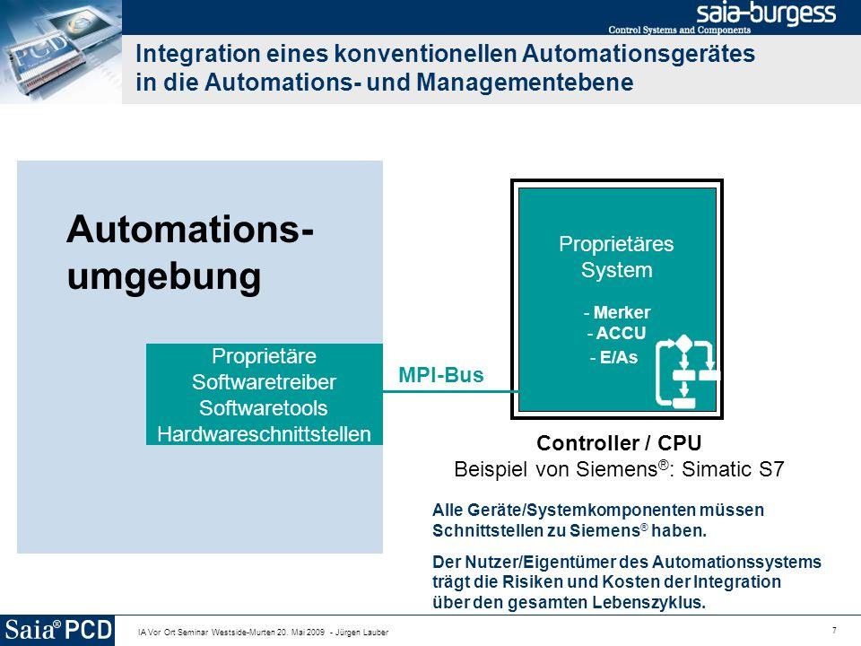 Automations- umgebung