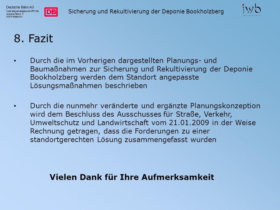 Sicherung und Rekultivierung der Deponie Bookholzberg