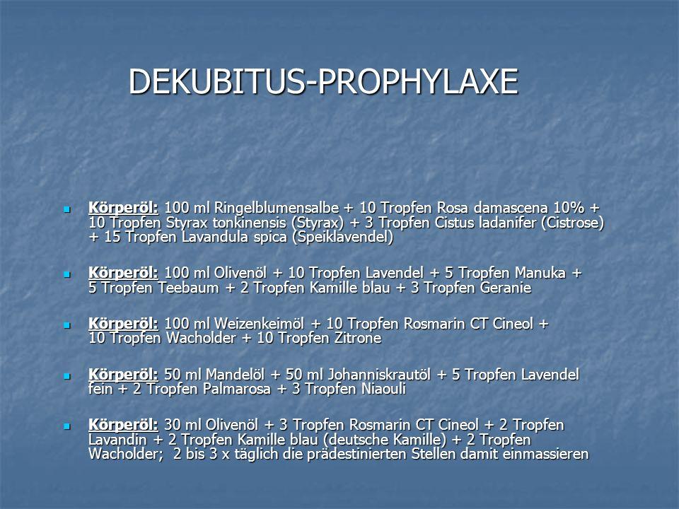 DEKUBITUS-PROPHYLAXE