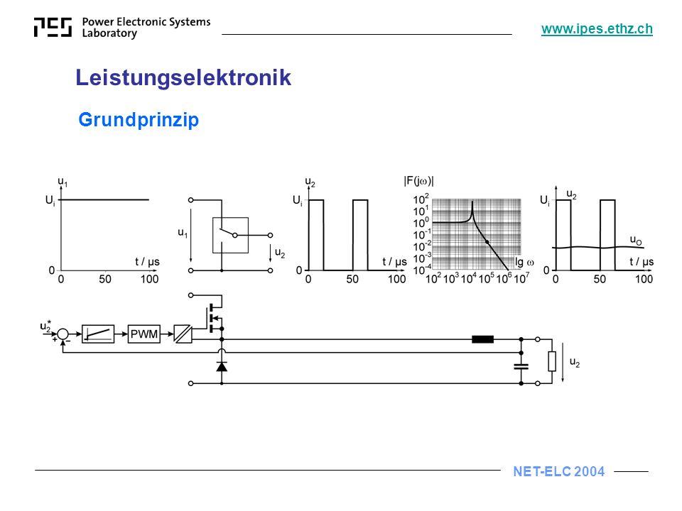 Leistungselektronik Grundprinzip