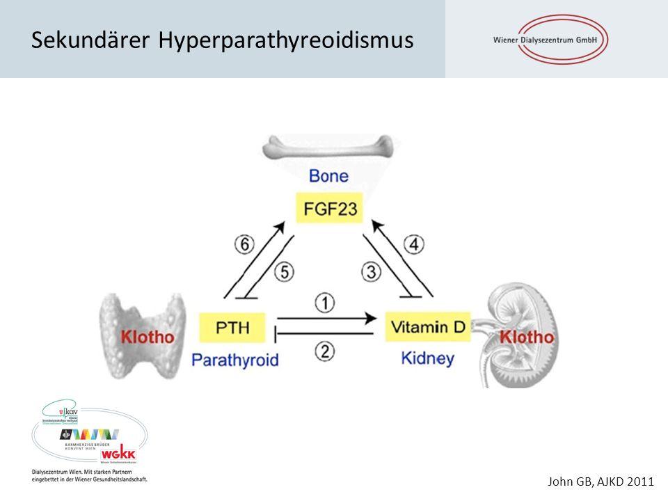 Sekundärer Hyperparathyreoidismus