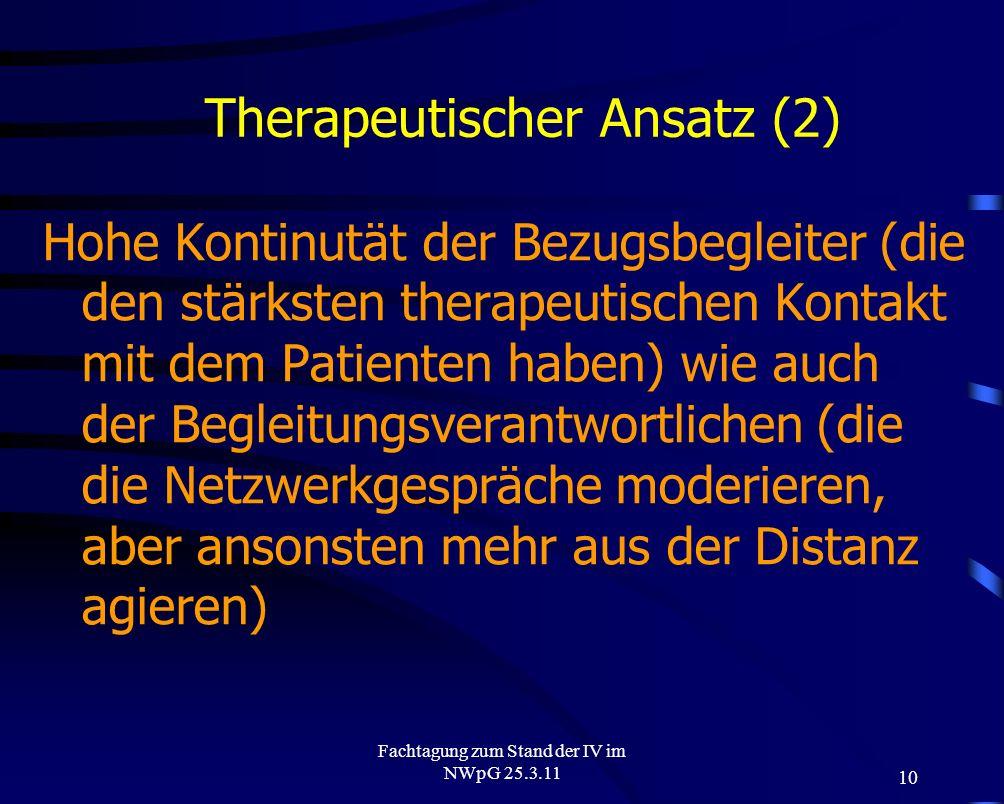 Therapeutischer Ansatz (2)