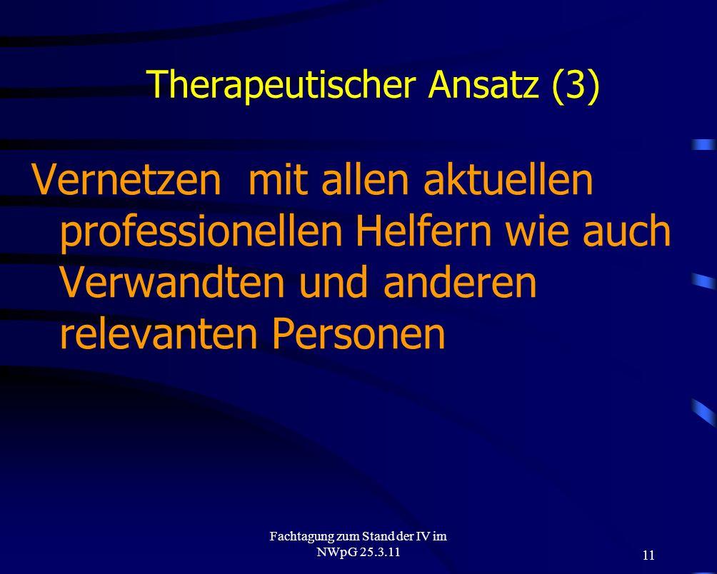 Therapeutischer Ansatz (3)