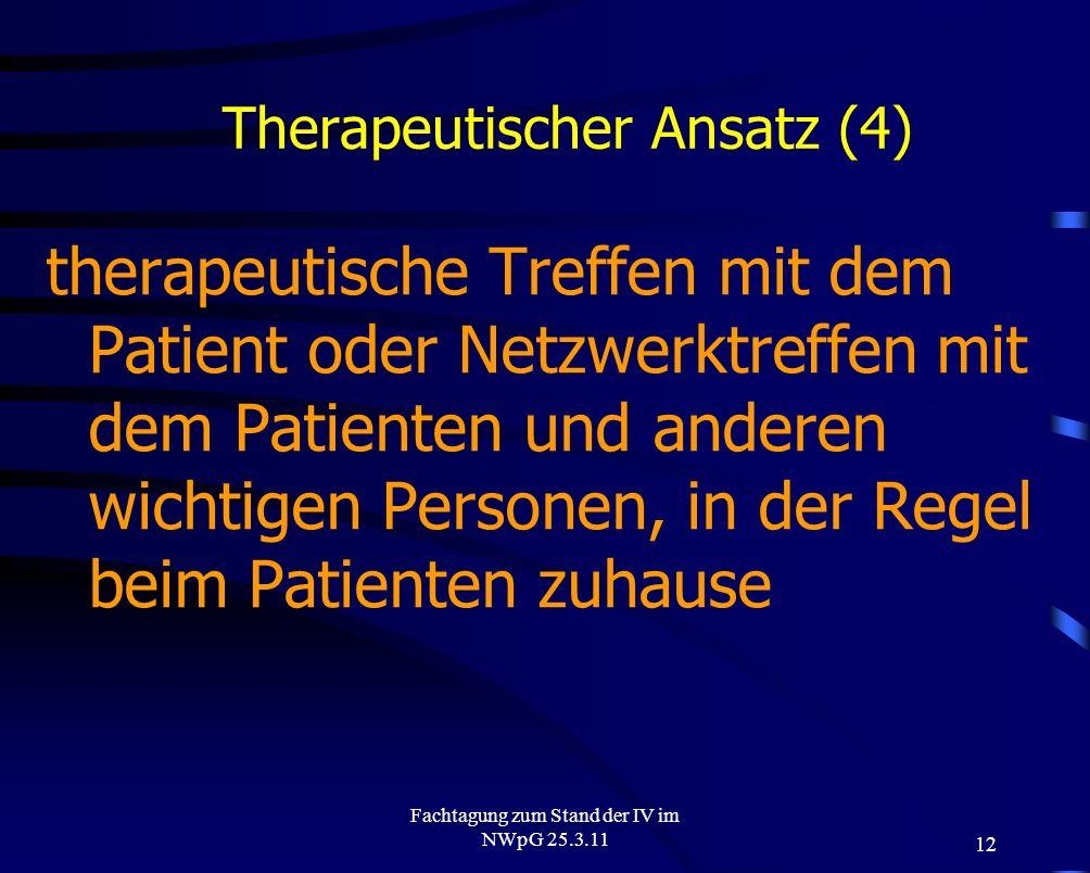Therapeutischer Ansatz (4)