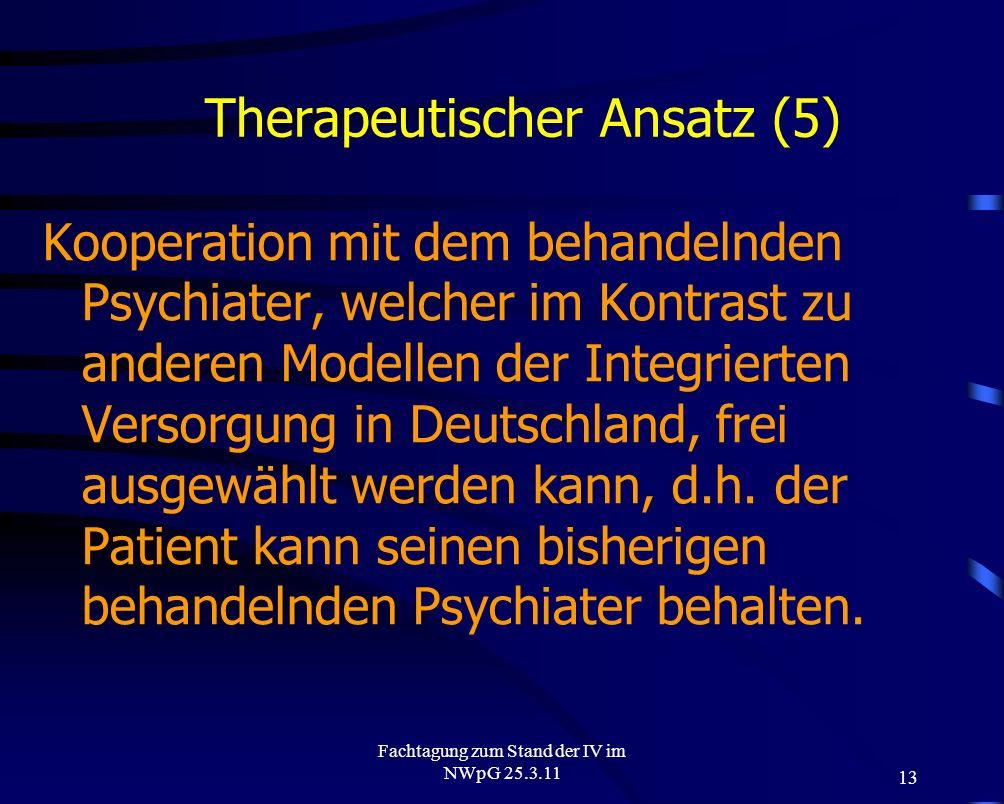 Therapeutischer Ansatz (5)