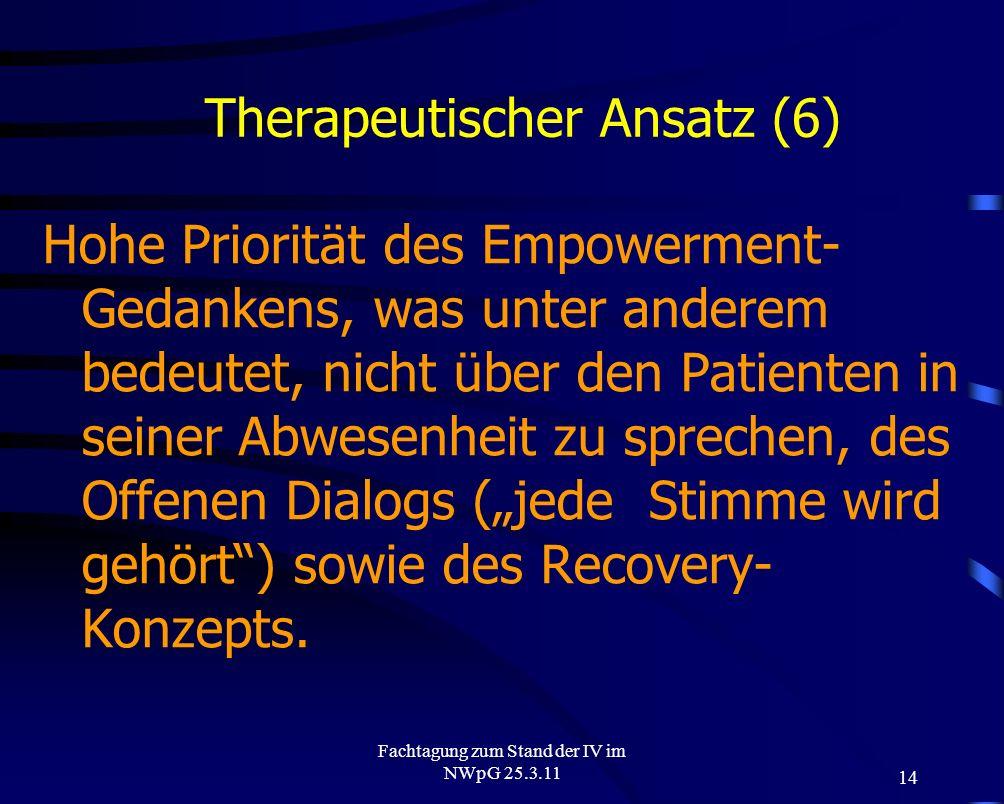 Therapeutischer Ansatz (6)