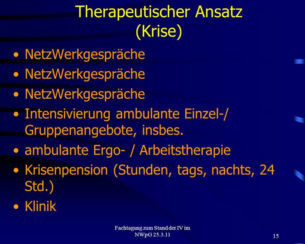 Therapeutischer Ansatz (Krise)