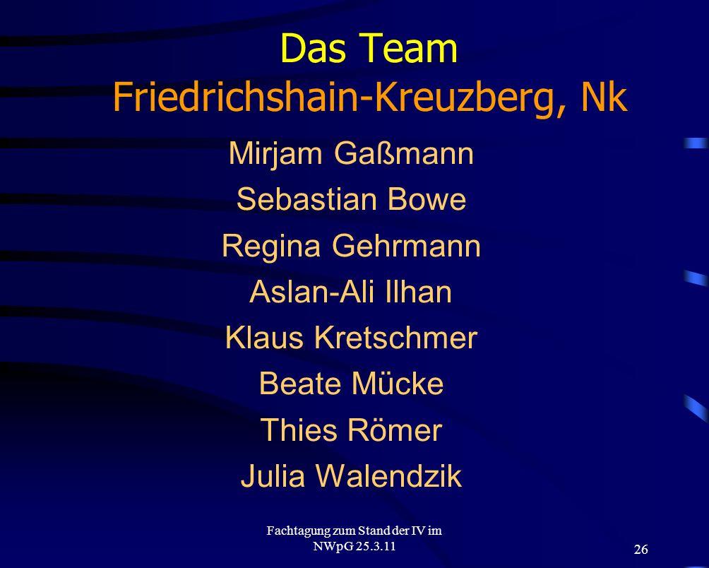 Das Team Friedrichshain-Kreuzberg, Nk