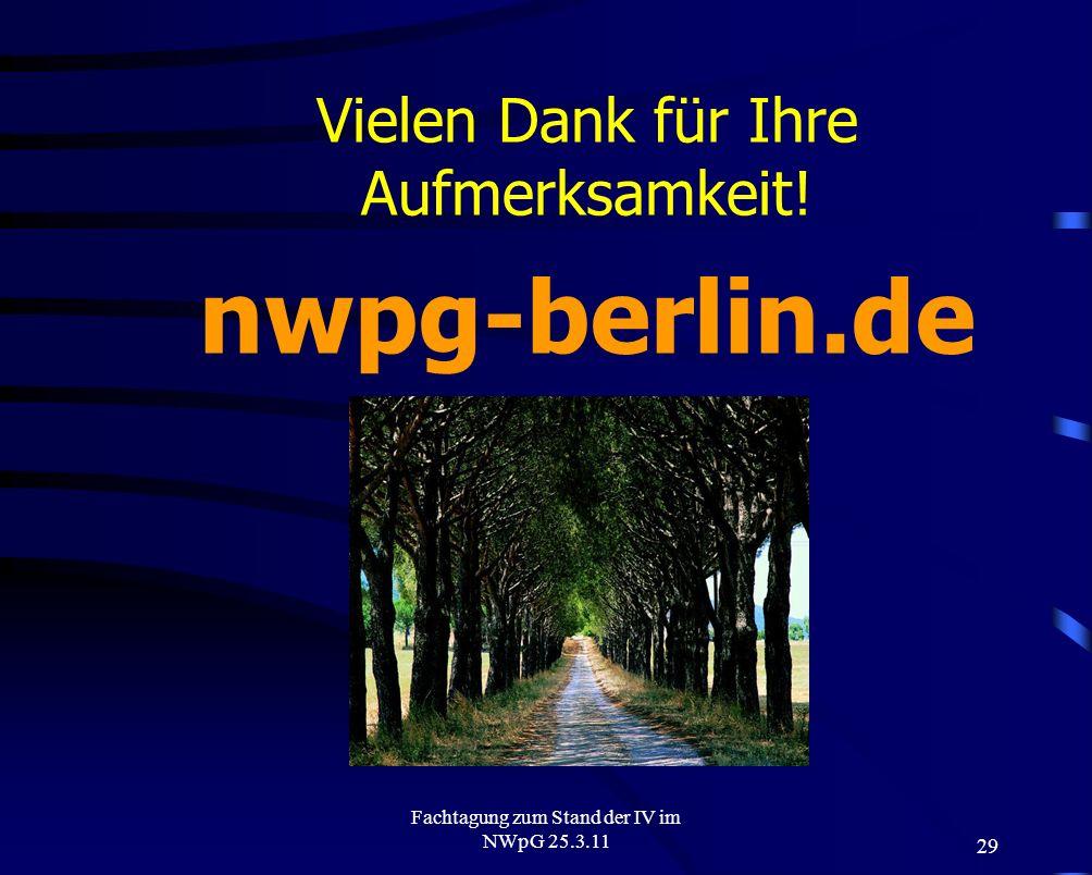 nwpg-berlin.de Vielen Dank für Ihre Aufmerksamkeit! (igv.pinel.de)