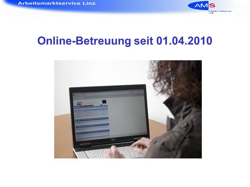 Online-Betreuung seit 01.04.2010