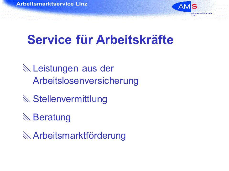 Service für Arbeitskräfte