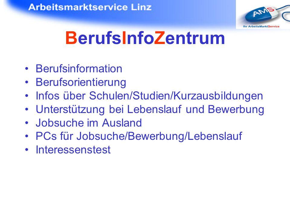 BerufsInfoZentrum Berufsinformation Berufsorientierung