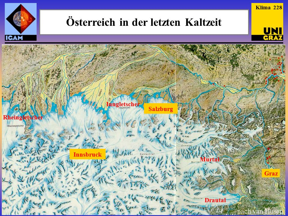 Österreich in der letzten Kaltzeit