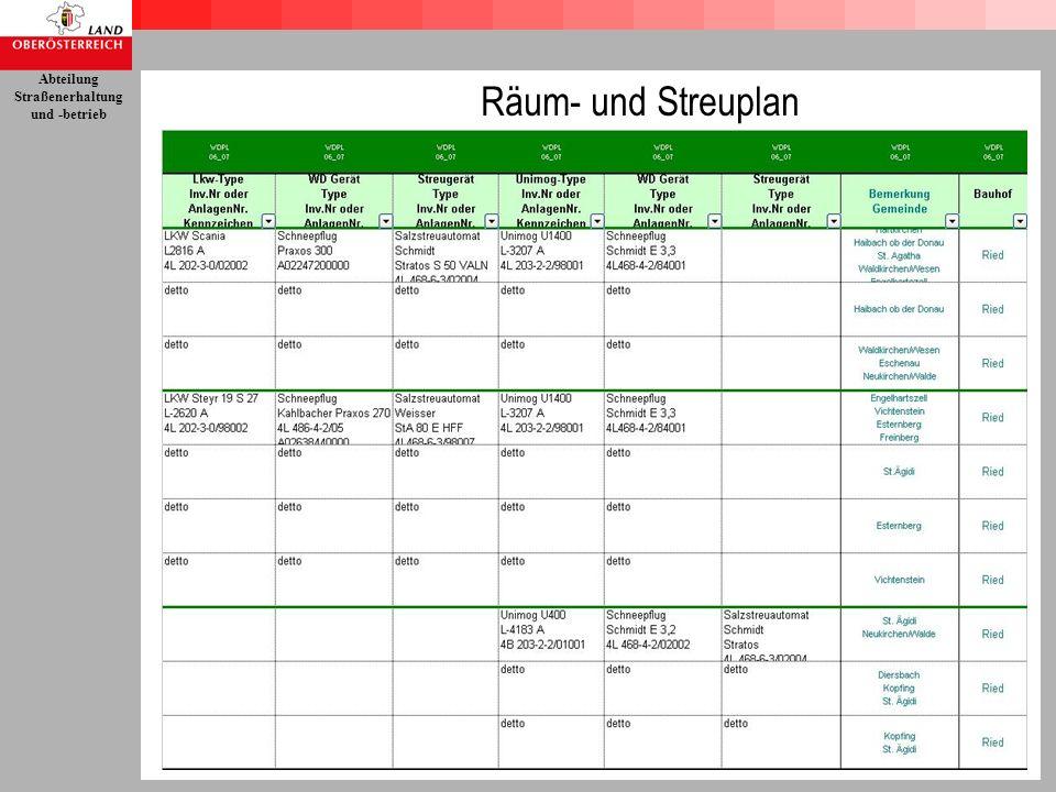 Räum- und Streuplan