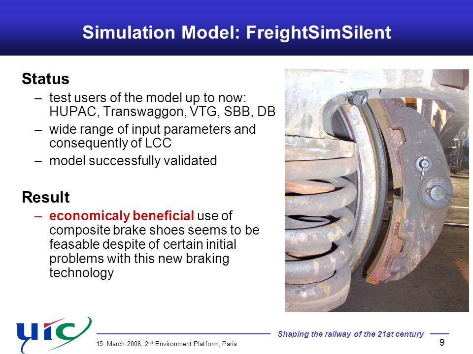 Simulation Model: FreightSimSilent