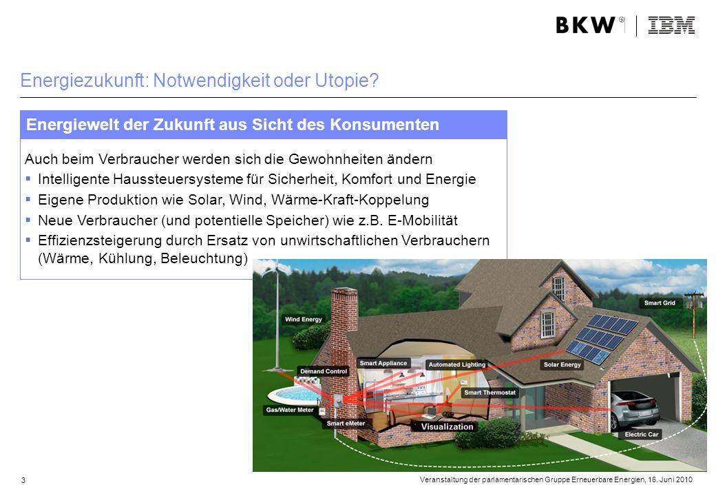 Energiezukunft: Notwendigkeit oder Utopie